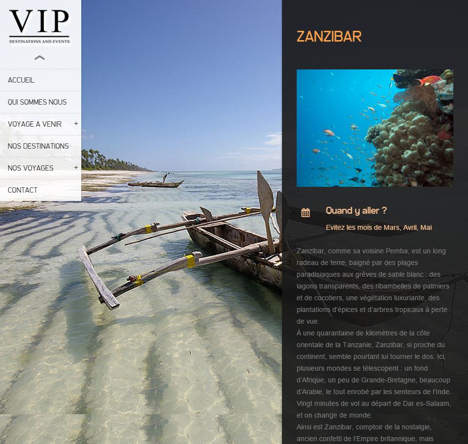 Témoignage webmaster site web agence de voyages Tunisie