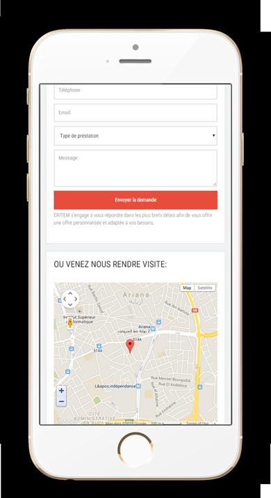 Créer un site web accessible sur ordinateur, tablette et mobile